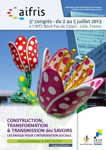 Télécharger (PDF) - AIFRIS