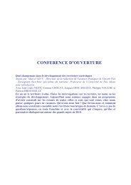 ACTES RENCONTRES - Office de tourisme de Brive La Gaillarde