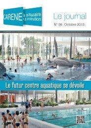Le futur centre aquatique se dévoile - La Carène