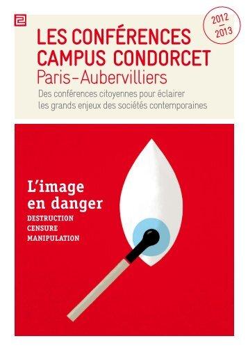 Les conférences campus condorcet - Université Paris 8