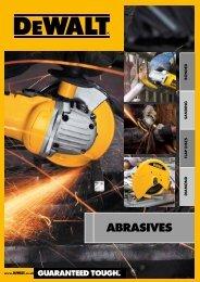 Bonded Abrasives - Dewalt