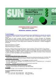 Vedi programma completo - Rimini Turismo