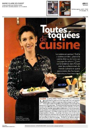 """Toutes"""" cuisine - l'Atelier des Chefs"""