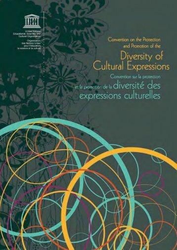 Convention sur la diversité culturelle
