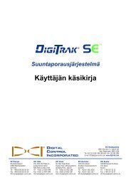 Vastaanotin - Digital Control Inc.