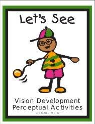 Let's See Vision Development Perceptual Activities - American ...