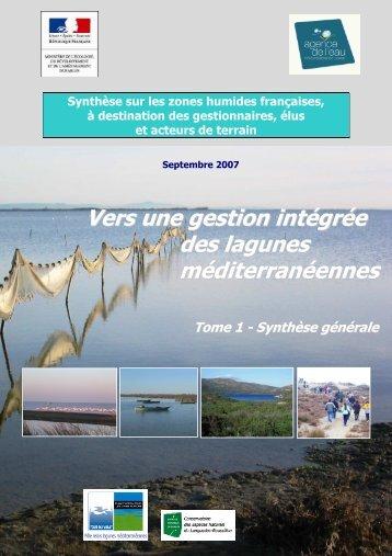 Tome 1 - Pôle-relais lagunes méditerranéennes