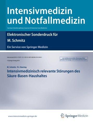 Intensivmedizin und Notfallmedizin - Städtisches Klinikum Solingen