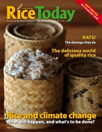 Rice and climate change - adron.sr