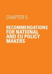 FOR NATIONAL AND EU POLICY MAKERS CHAPTER 5 - spea