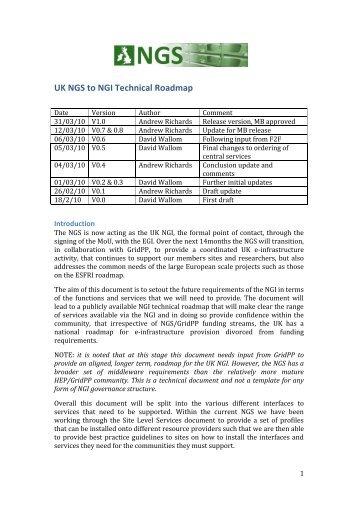 UK NGS Technical Roadmap 2010-V1.0.pdf - National Grid Service ...