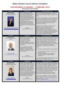 Candidate Biographies & Elections statements - Dublin Chamber of ... - Page 2