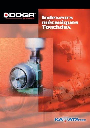 Indexeurs mécaniques Touchdex Indexeurs mécaniques ... - Doga