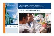 Title for Postcard —Large 9 x 6 - Public Affairs | Illinois