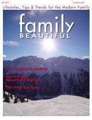 Family Beautiful Fall 2012