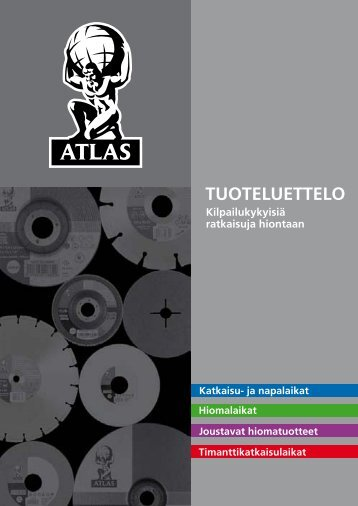 TUOTELUETTELO - Atlas