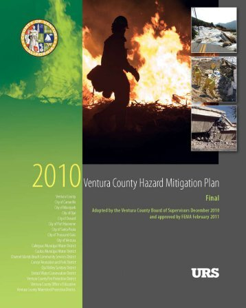 County Hazard Mitigation Plan - Thousand Oaks