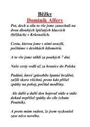 Běžky Dominik Alfery