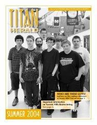 Summer 2004 - Taconic Hills Central School District