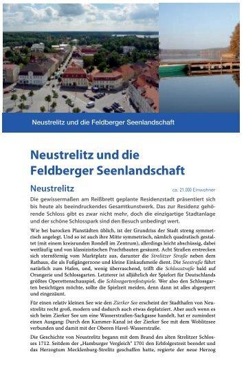 Neustrelitz und die Feldberger Seenlandschaft