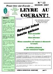 2007 - Ecotourisme dans les Landes de Gascogne