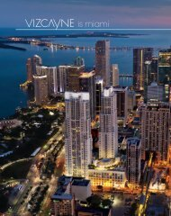 Vizcayne Brochure - sxm Luxury Properties