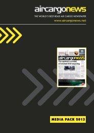 MEDIA PACK 2013 - Air Cargo News