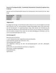Deutsch als Fremdsprache (DaF) – Grundschule/ Sekundarstufe I ...