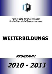 Brochures AVEM all - Association Valaisanne des Entreprises de ...