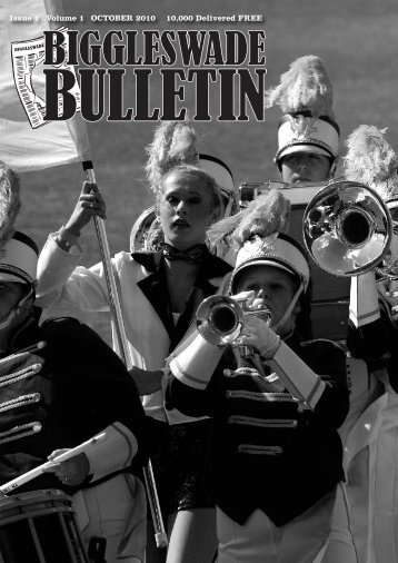the first edition of The Biggleswade Bulletin……