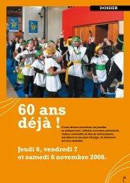 Jeudi 6, vendredi 7 et samedi 8 novembre 2008. - (ADAPEI) Rhône