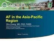 AF in the Asia-Pacific Region - Atrial Fibrillation PressOffice