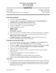 Le questionnaire, en pdf - Université de Sherbrooke