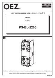 Schalter - PS-BL-2200