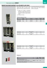 katalog ve formátu PDF (velikost 783 KB) - CEHA KDC elektro ks