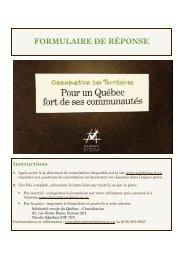 Formulaire consultation SRQ version finale - Table de concertation ...