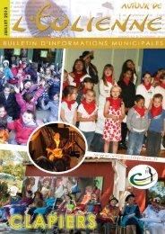 Bulletin municipal Juill 2013 - Mairie de Clapiers
