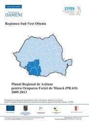 Planul Regional de Acţiune pentru Ocuparea Forţei ... - stpsv.eubiz.ro