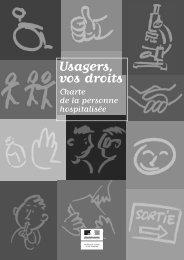 Charte de la personne hospitalisée en France.