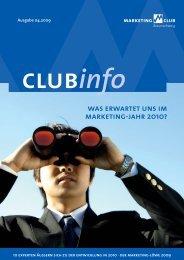 MCB ClubInfo 04 09 - Marketing-Club Braunschweig