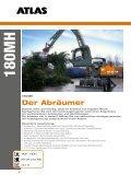 Umschlagbagger Gesamtprospekt - ATLAS Hydraulikbagger - Seite 6