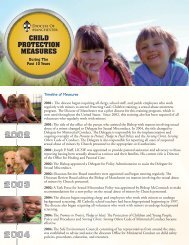 CHILD PROTECTION MEASURES - Diocese of Manchester