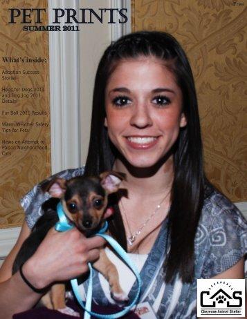 Summer 2011 Newsletter - Cheyenne Animal Shelter