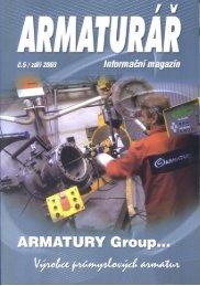 Armaturář č. 5 - ARMATURY Group a.s.