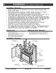 Installation (for qualified installers only) - Travis Industries Dealer ... - Page 7