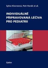 Individuálně připravovaná léčiva pro pediatrii - Databook.cz