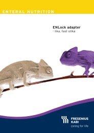 ENLock folder - Fresenius Kabi