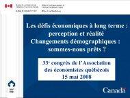 Jean-Claude Ménard - Association des économistes québécois