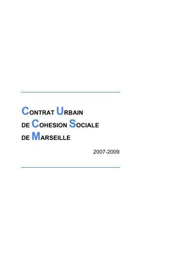 CONTRAT URBAIN DE COHESION SOCIALE DE MARSEILLE