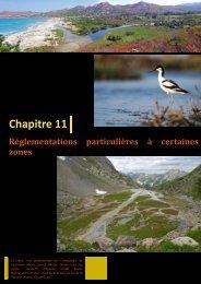 Réglementations particulières à certaines zones humides